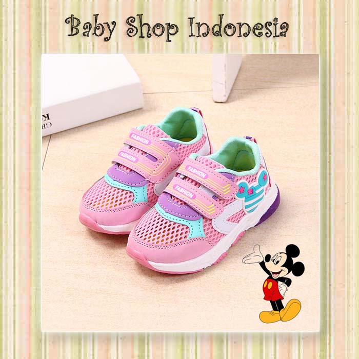 Sepatu Anak Import Murah Sepatu Kasual Anak Sepatu Kets Anak Sepatu Anak  Mickey Minnie Blue Sepatu c0d2bcc743