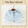 Celana Pendek Hotpants biru muda  medium