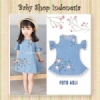Dress Anak Off Shoulder Sakura  medium