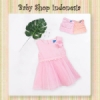 Dress Bayi Line Pearl Pink  medium
