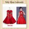 Dress Imlek Anak Elegant Red  medium
