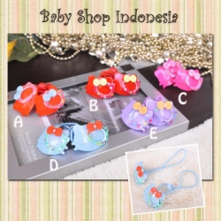H057 Karet Rambut Glass Hello Kitty 11  large