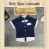 Kemeja Bayi Navy Blue  medium