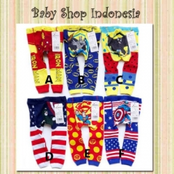 LT025 Legging Busha Superhero Series 25  large