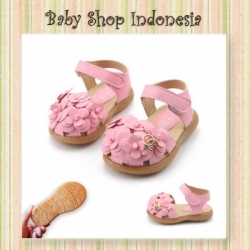 Sepatu Sandal Flower OC  large