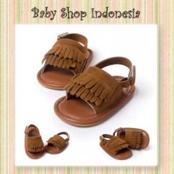 Sepatu Sandal Rumbai Coklat  large