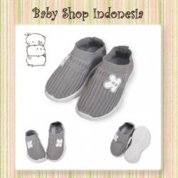 Sepatu Slip on Anak Key Abu  large