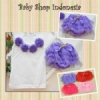Setelan Rok Tutu Purple  medium