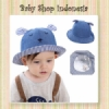 Topi Pantai Anak Denim  medium