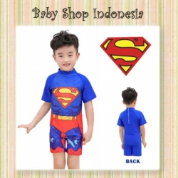 baju renang superman  large