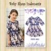 dress flower blue  medium