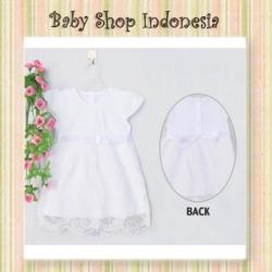 dress kaos putih new  large