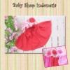 jilbab instan merah  medium