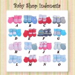 kaos kaki sarung tangan bayi baruu  large