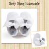 sepatu bayi putih  medium