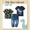 setelan 3in1 carters dino  medium