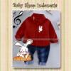 setelan kemeja anak setelan anak import setelan celana jeans anak bunny red  medium
